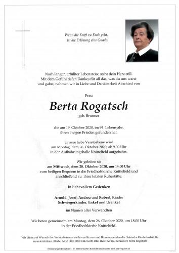 Berta Rogatsch