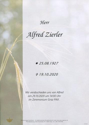 Alfred Zierler