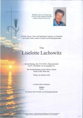 Liselotte Lachowitz