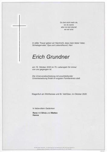 Erich Grundner