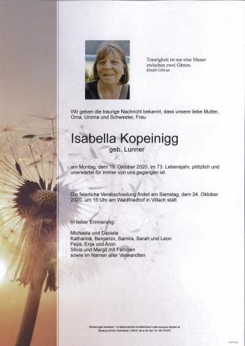 Isabella Kopeinigg