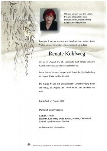 Renate Kohlweg