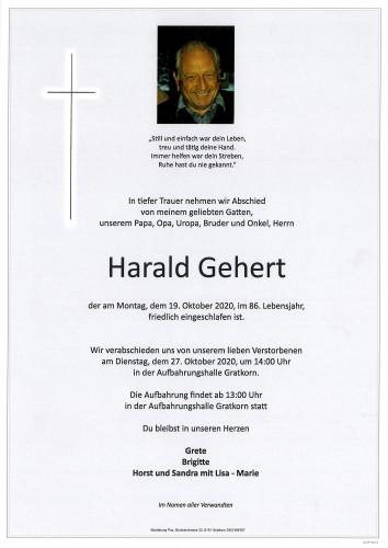 Harald Gehert