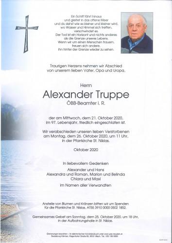 Alexander Truppe