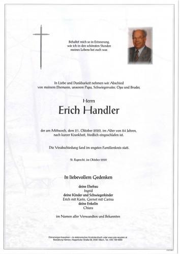 Erich Handler