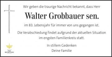 Walter Grobbauer sen.
