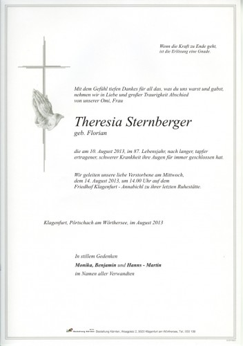Theresia Sternberger