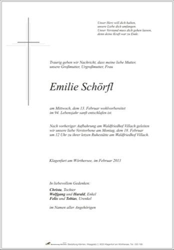 SCHÖRFL Emilie
