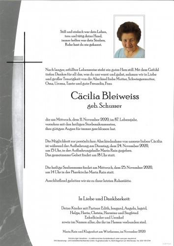 Cäcilia Bleiweiss