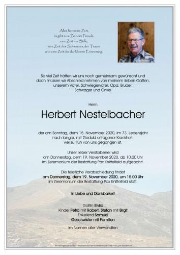 Herbert Nestelbacher