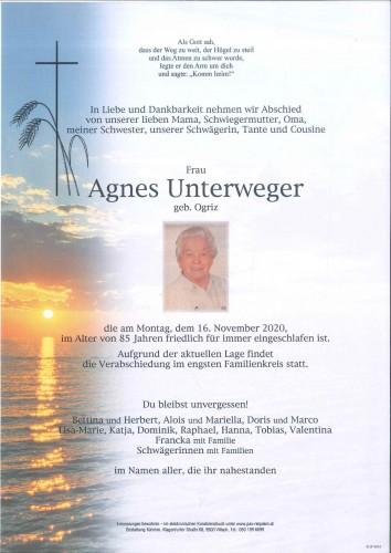 Agnes Unterweger