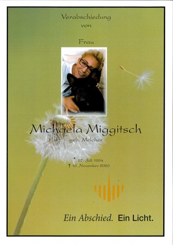 Michaela Miggitsch, geb. Melcher