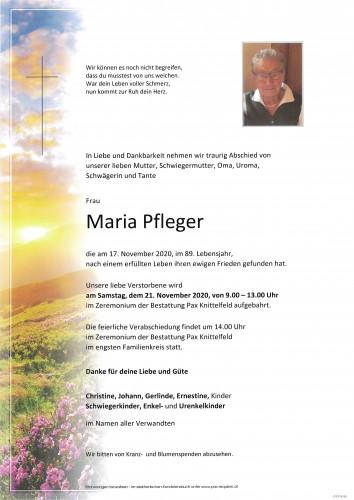 Maria Pfleger