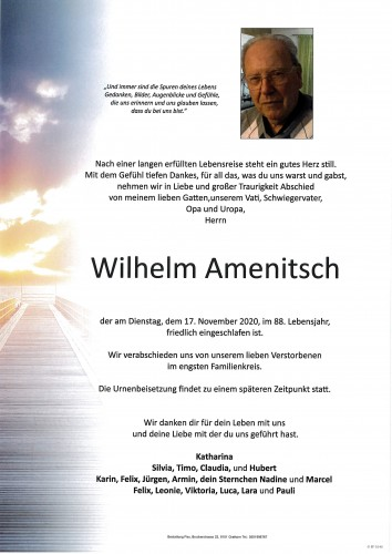 Wilhelm Amenitsch