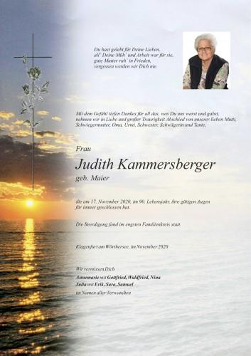 Judith Kammersberger