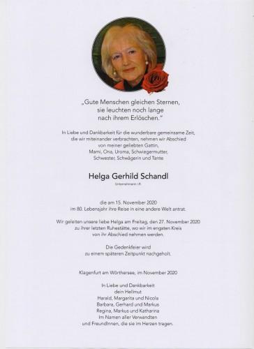 Helga Schandl