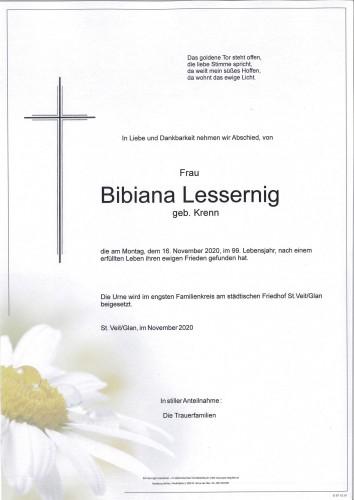 Bibiana Lessernig  geb. Krenn