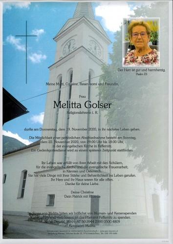 Melitta Golser