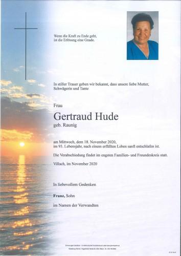 Gertraud Hude