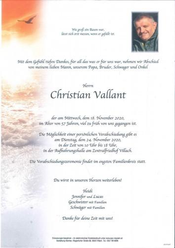 Christian Vallant