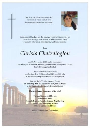 Christa Chatzatoglou