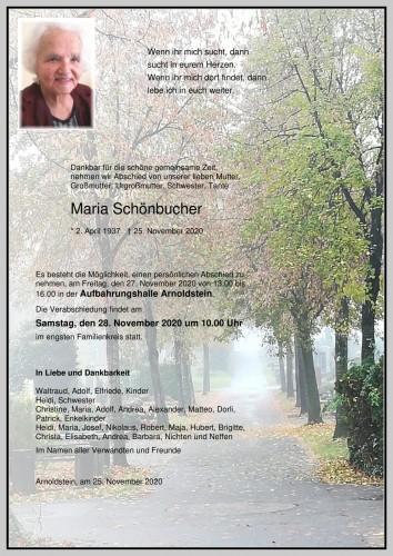 Schönbucher Maria