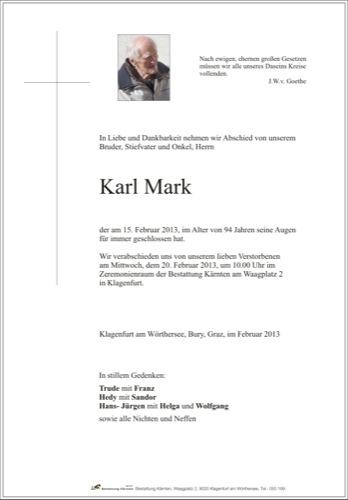 MARK Karl
