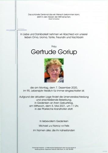 Gertrude Goriup