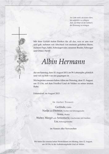 Albin Hermann