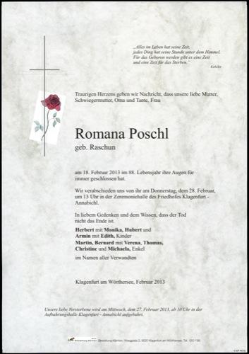 POSCHL Romana