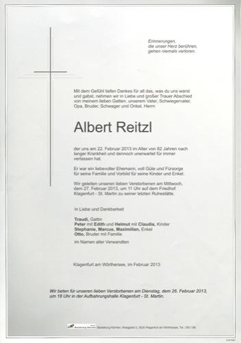 REITZL Albert