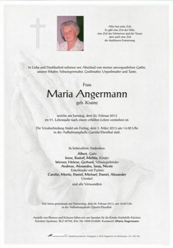 ANGERMANN Maria