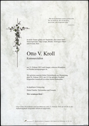 KROLL Otto
