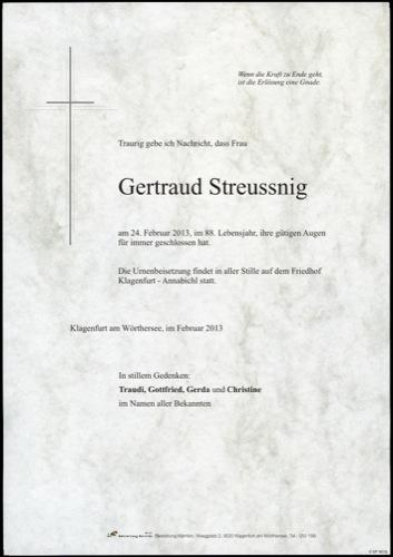 STREUSSNIG  Gertraud