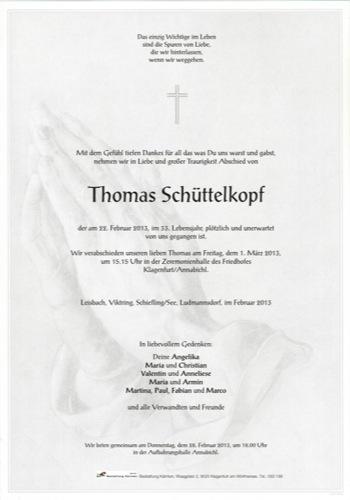 SCHÜTTELKOPF Thomas