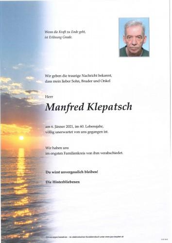 Manfred Klepatsch