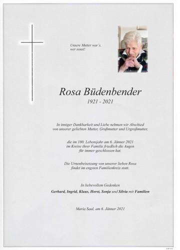 Rosa Büdenbender