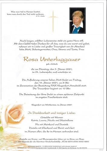 Rosa Unterluggauer