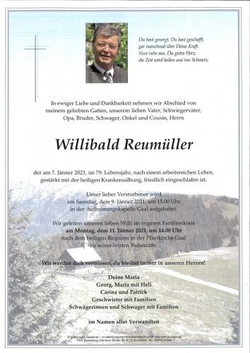 Willibald Reumüller