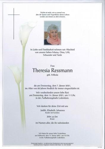 Theresia Ressmann