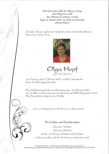 Olga Hopf