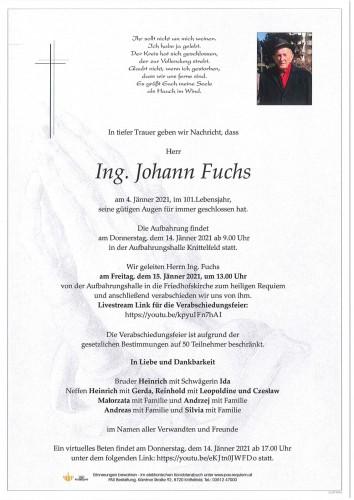 Ing. Johann Fuchs