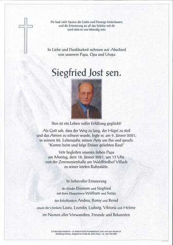 Siegfried Jost