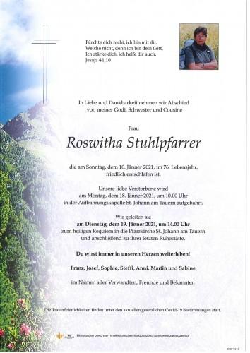 Roswitha Stuhlpfarrer