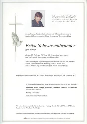 SCHWARZENBRUNNER Erika