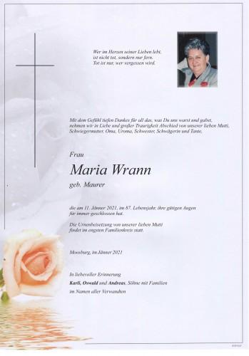 Maria Wrann