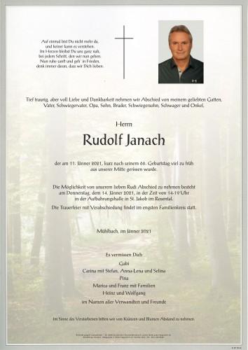 Rudolf Janach