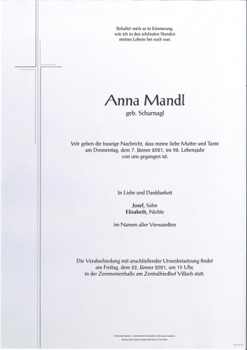Anna Mandl
