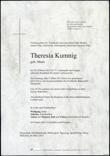 KUMNIG Theresia