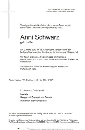 SCHWARZ Anna